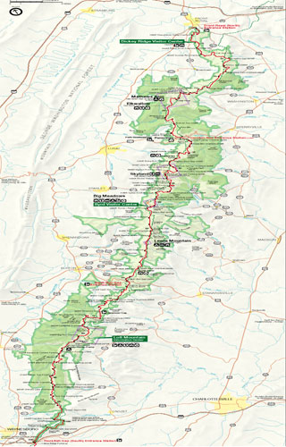 shenandoah national park map pdf